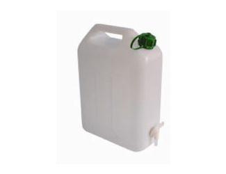 Kanystr na vodu 15 l s kohoutkem plast