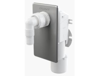 ALCA PLAST APS3 pračkový sifon podomítkový nerez