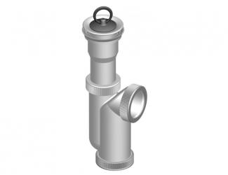 Sifon dřezový s výpustí odpad 50/40mm