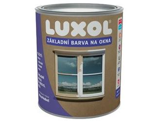 LUXOL barva na okna bílá 0.75l