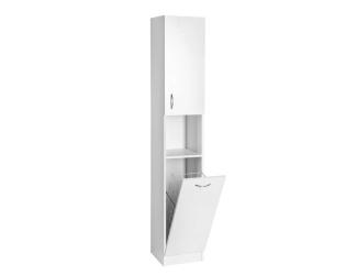 SAPHO Simplex Eco vysoká skříňka s košem 30x180x30cm