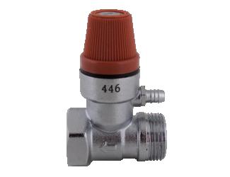 """Pojistný ventil k bojleru 1/2"""" 6BAR"""